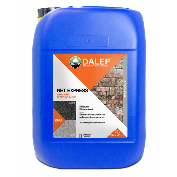 NET EXPRESS en 20 lt Nettoyant Rapide sans rinçage
