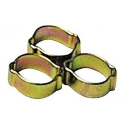 COLLIER DE SERRAGE A OREILLE D 6 mm + 8 mm (954) ** fin de stock **