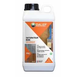 SATURATEUR BOIS en 1 lt Huile de Protection Haute Performance