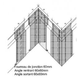 ANGLE RENTRANT POUR RF-E 10 / 110