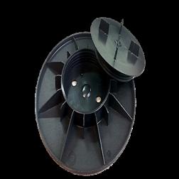 PLOT A VERIN REGLABLE 25 - 40 mm (la pièce / sac de 25)