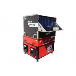 CARDEUSE SOUFFLEUSE X-FLOC EM440 380V 10,5 KW **sur commande**