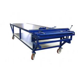 TABLE DE TRAVAIL 3200 x 1250 X 950 mm ** sur commande **