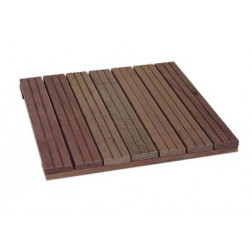 DALLE PIN CAILLEBOTIS 500 X 500 X 44 CL4 6 LAMES MARRON