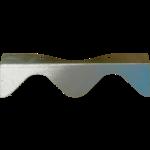 RACLOIR ACIER ONDULE (pour balai métal 603 007)